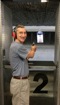 Glen at the range
