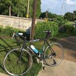 Near Grant's farm. A great 8 mile trail.