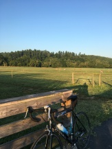 bike at Biltmore estate Antler village