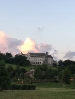 Biltmore Inn at sunset