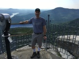 Glen on Top of Chimney Rock