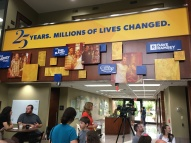 Dave Ramsey office--watching the show