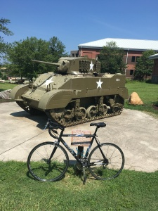 Ft Jax tank and bike