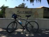 Biking in wine country