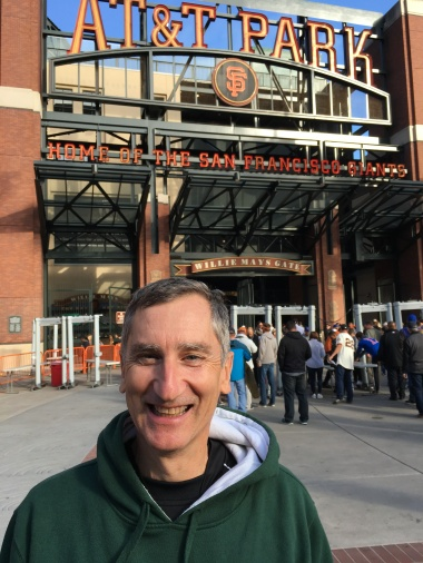 About to enter AT&T Park