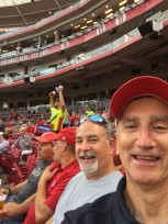 Glen and Friends at the Reds