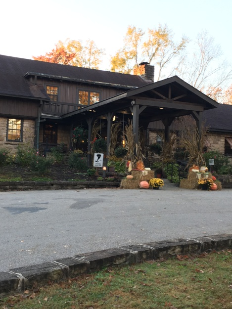 Cumberland Lodge enterance