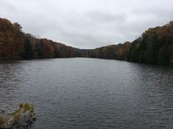 Hocking hills lake