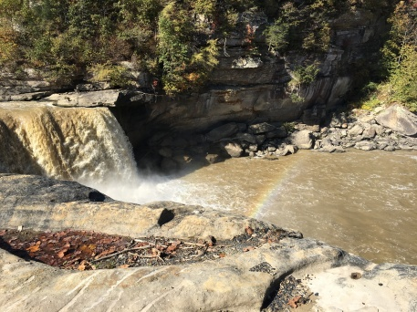 Rainbow at cumberland falls