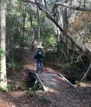 FL Glen on bike bridge 2