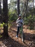 FL Kim on the bike