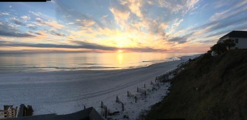 FL last night sunset panarama 4