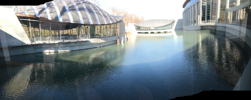 AR inside crstal bridges looking out