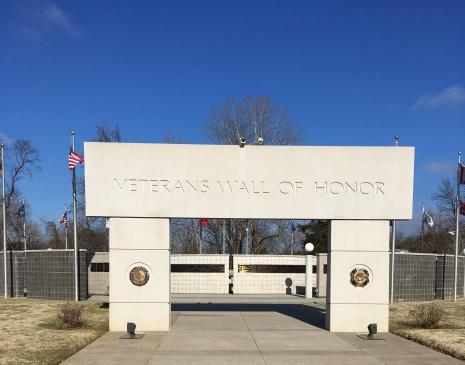 AR veterans wall of honor