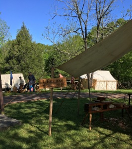 Muscgrove mill encampment