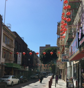 Street in China Town