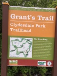 Sign for clydesdale park