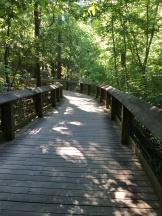 walking in columbia boardwalk trail