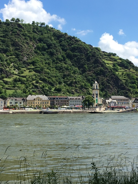 Bike tour 2018 Day 1 cute towns on the Rhine