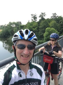 Bike tour 2018 Necker River--1 Glen and Kim