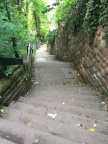 Walkway up to Heidelberg Castle