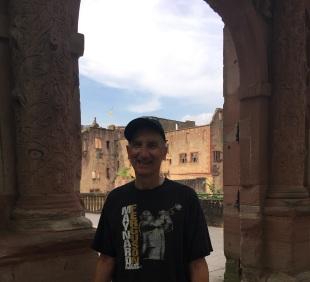 Glen at Heidelberg Castle