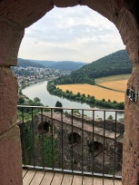 Bike tour 2018 Necker River--June 7 odenwald castle dilsberg-8