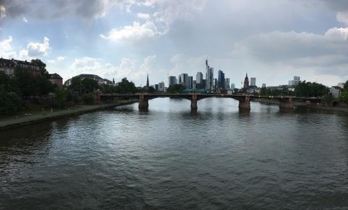 Frankfurt from the bridges