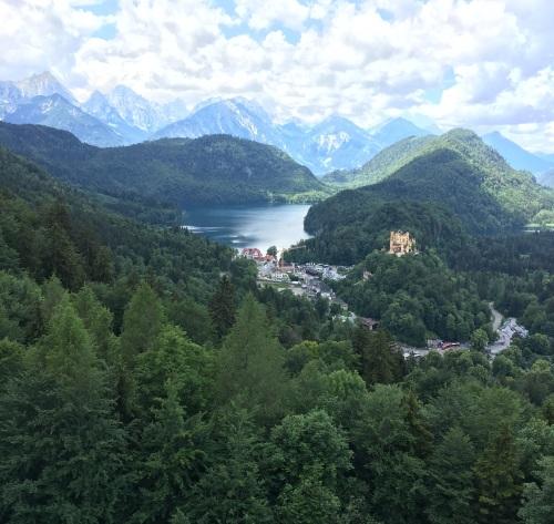 Neuschwanstein 7 view from castle