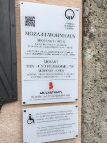 Saltzburg 16 Mozart residence
