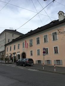 Saltzburg 17 Mozart residence