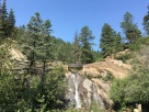 Colorado 7 bridges hike to trail head--Hellen Hunt falls 2