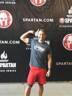Spartan Mark at Busch