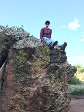 UTE trail Garden of the Gods lets go climb a rock