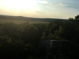 Pea Ridge View from the top