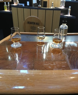Tasting at Heaven Hill