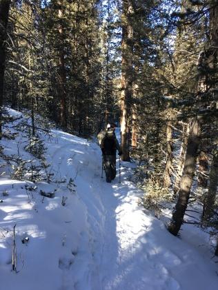 Hike 2 CS 2018 SGPB on the hike - 2