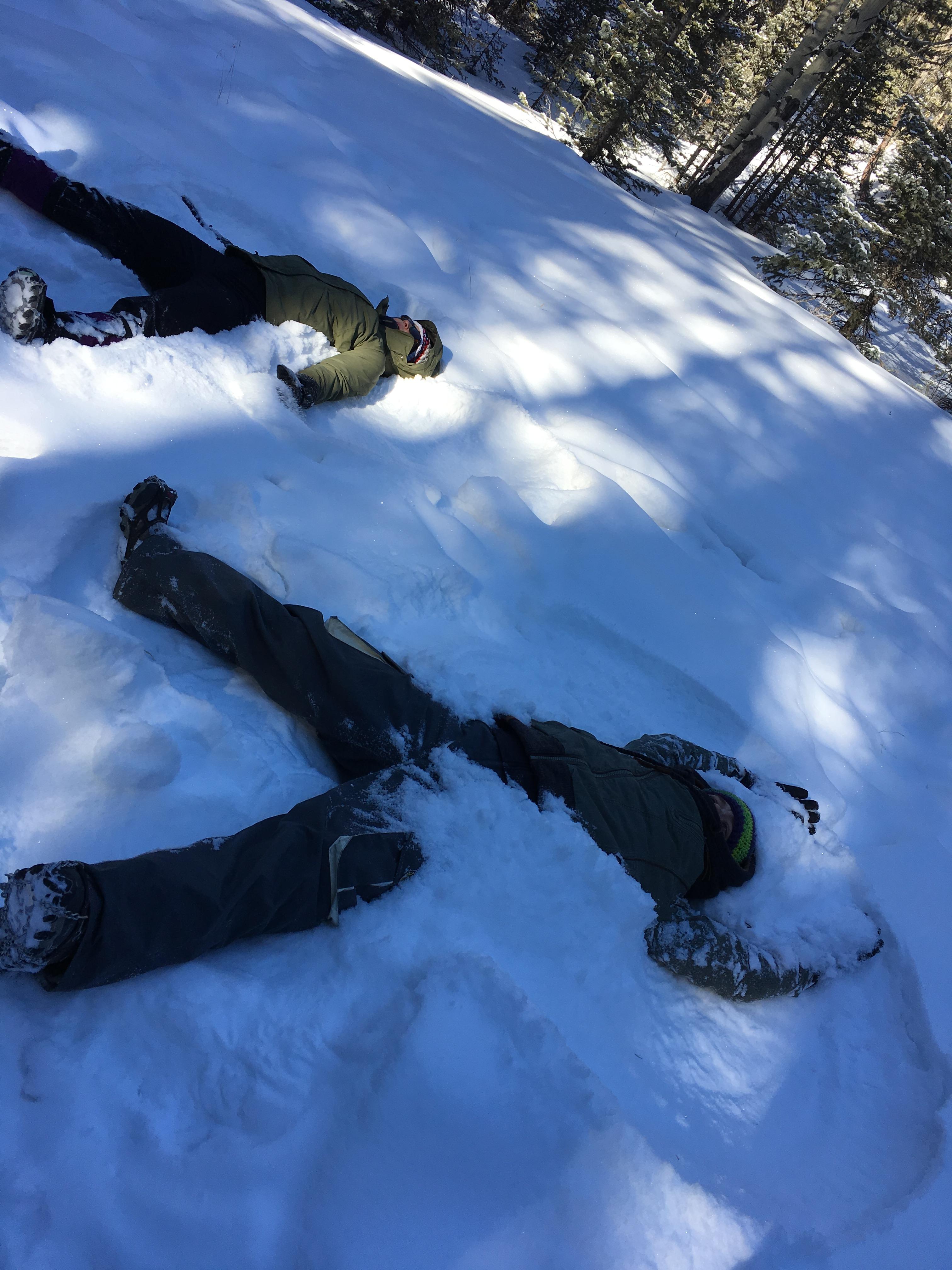 Hike 2 CS 2018 Snow angels