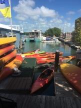 Ride to Keys 2019 fifth day--ride around Key West Kayak adventure 1
