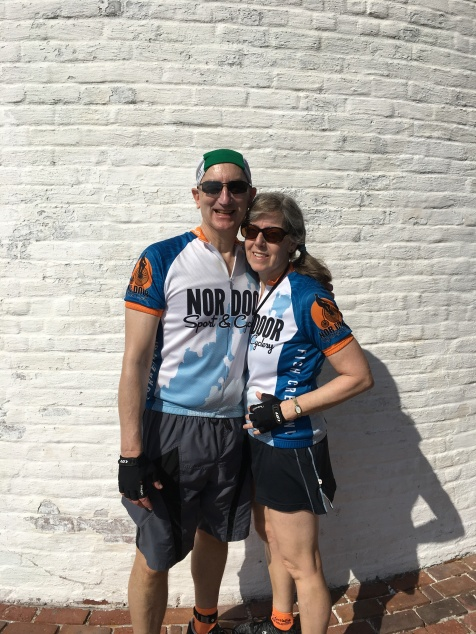 Ride to Keys 2019 first day GK at lighthouse