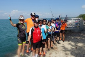Ride to Keys 2019 first day group picture