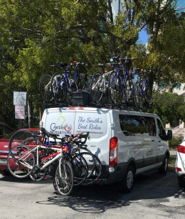 Ride to Keys 2019 first day van packed and ready to go