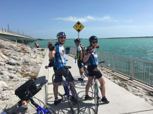 Ride to Keys 2019 fourth day view from the road GK