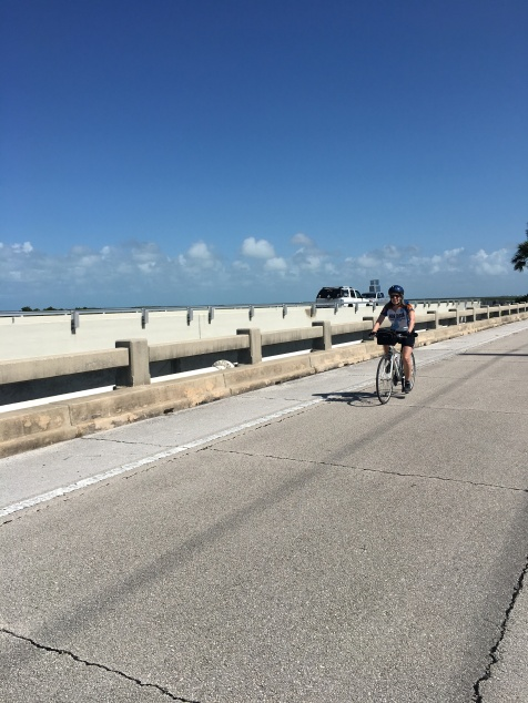 Ride to Keys 2019 fourth day view from the second bridge