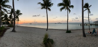 Ride to Keys 2019 Last night sunset-pano