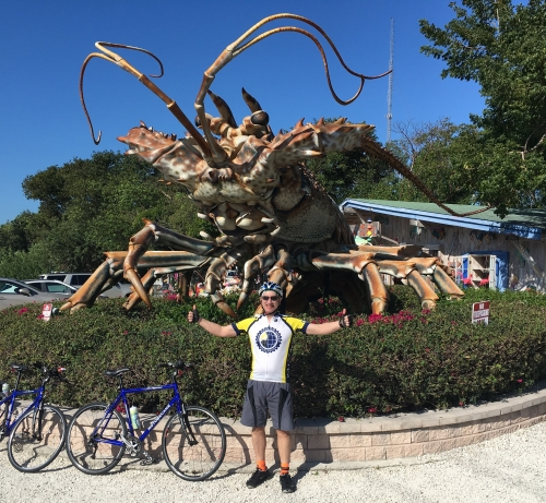 Ride to Keys 2019 Second day stone crab Glen