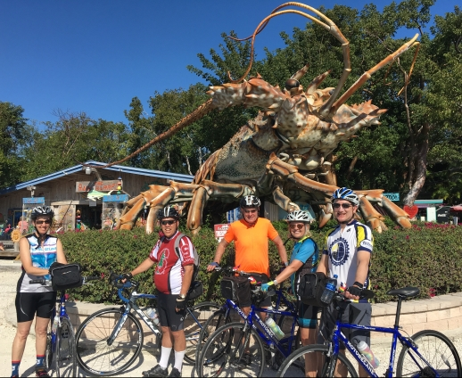 Ride to Keys 2019 Second day stone crab group