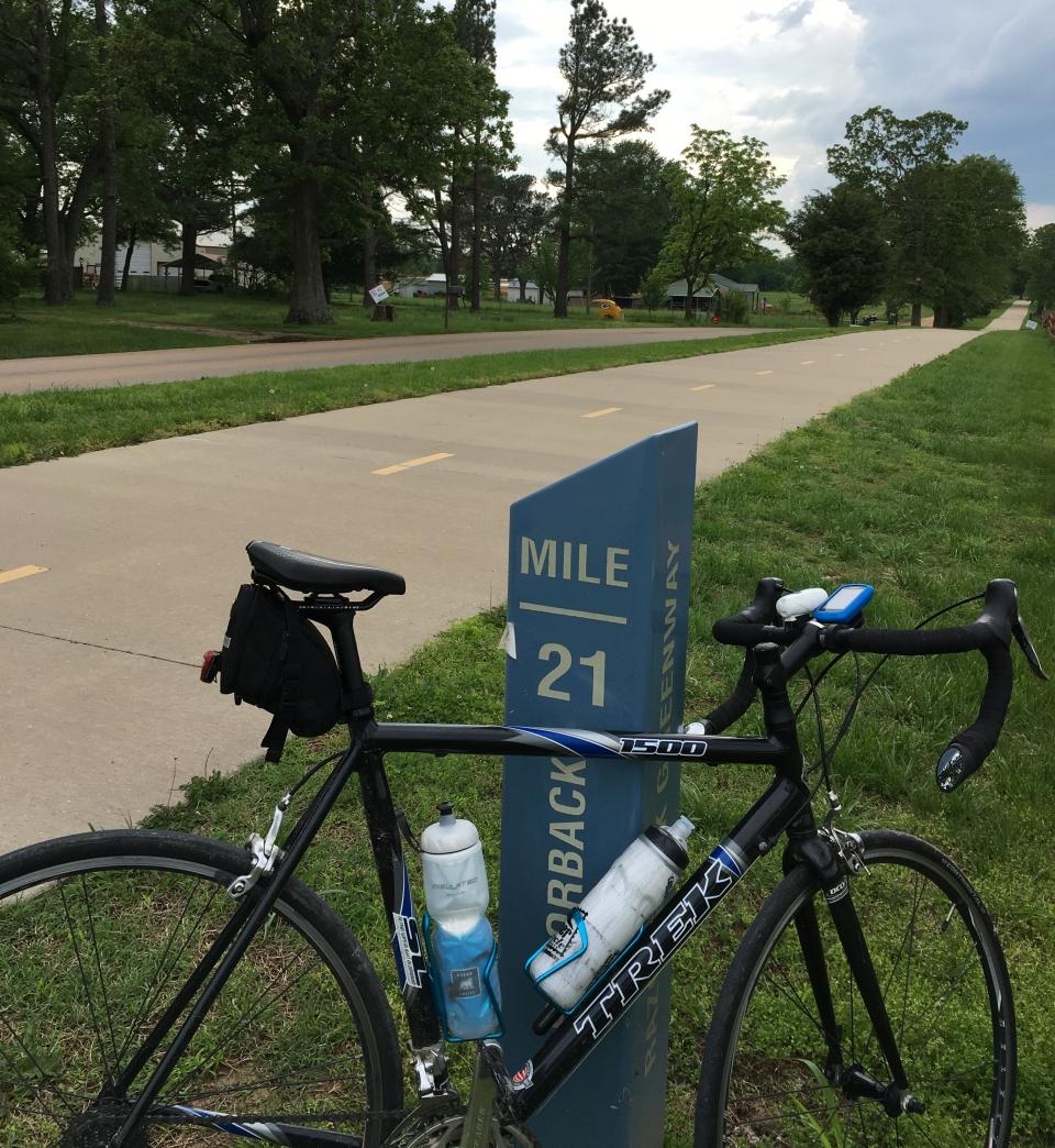 Arkansas trail end