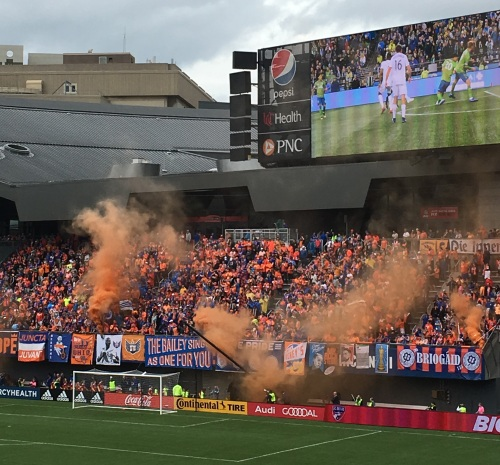 FC Cincinnati game bailey