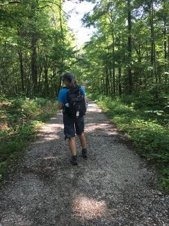 On the trail--first part